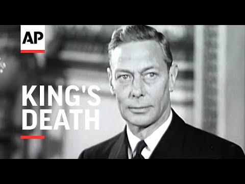Tragic News of Kings Death - 1952