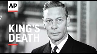 Tragic News of King's Death - 1952