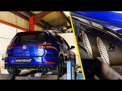 Fitting a LOUD Akrapovic Exhaust to my Golf R!