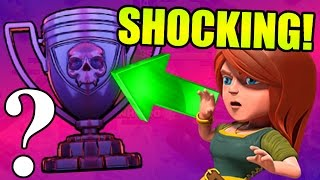 Clash Of Clans - MOST SHOCKING LEGENDS LEAGUE PLAYER EVER!!