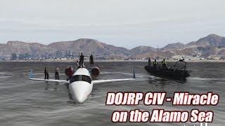 One of Civ Ryan's most viewed videos: GTA5 | DOJ CIv Stories #1 - Miracle on the Alamo Sea