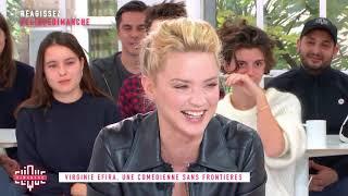 Virginie Efira : une comédienne sans frontières - Clique Dimanche - CANAL+