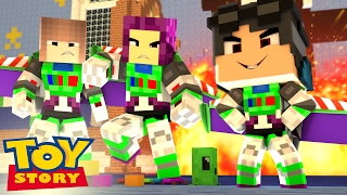 Minecraft: Who's Your Family? - A FAMÍLIA DO BUZZ LIGHTYEAR