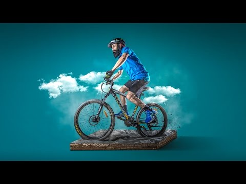Photoshop Manipulation Tutorial | Photo Effects The Cyclist
