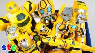 Caja Gigante de Juguetes de Bumblebee Coleccion de juguetes de Transformers