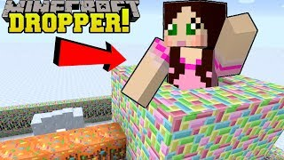 Minecraft: FALLING INTO SANTA'S CHIMNEY!! - Santa's Hat - Mini-Game