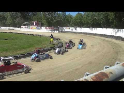 Skagit Speedway, Mini Dirt Cup 2017, Day 1, Heat Races
