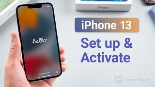 How to Set Uṗ and Activate iPhone 13/iPhone 13 Pro/iPhone 13 Mini