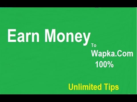 Wapka Earn Money