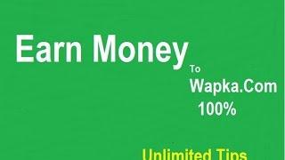 Gambar cover How to Earn Money wapka site