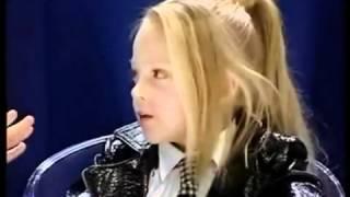 Viktoria Petrik (13 years), Anastasia Petrik (8 years) - I Love Rock