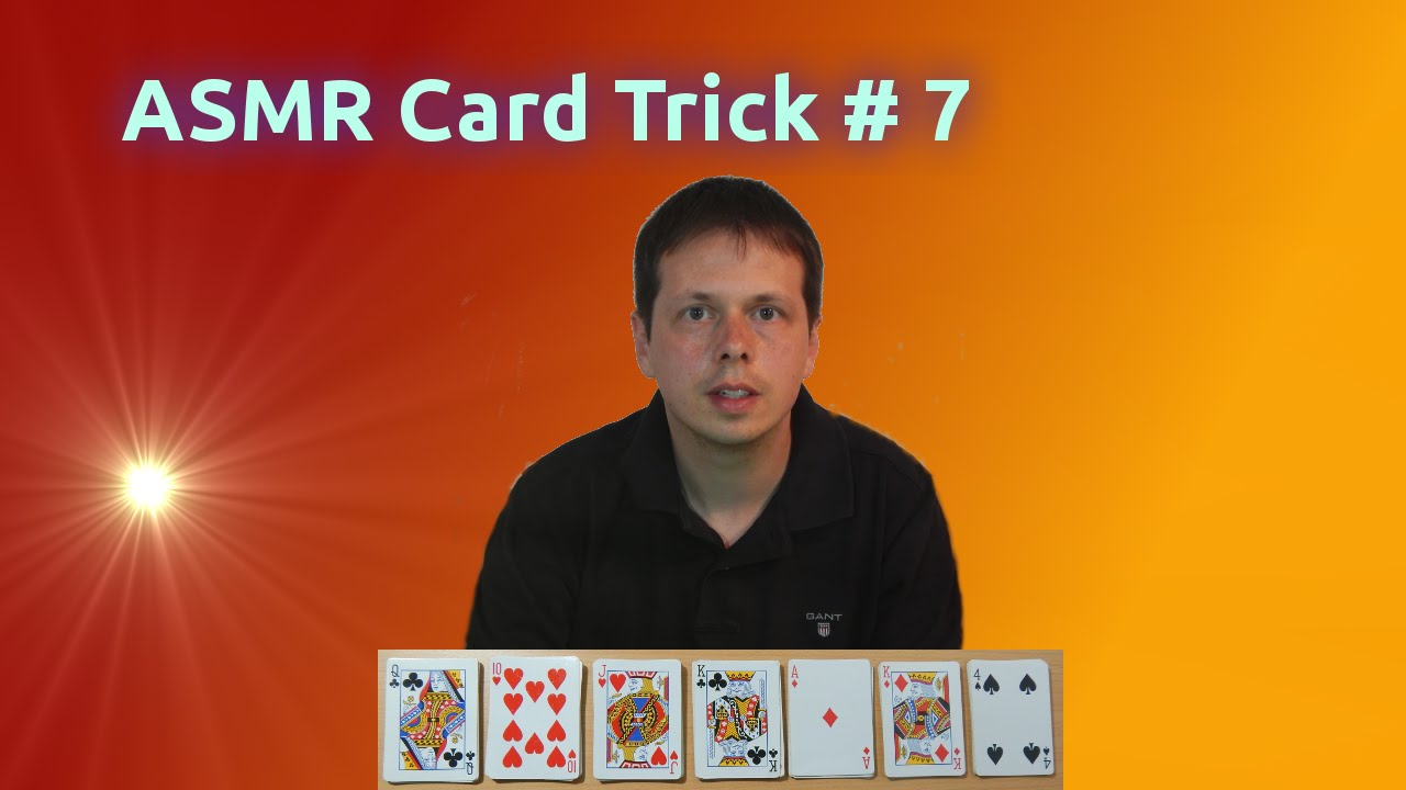 asmr card trick 7 guess a card youtubeasmr card trick 7 guess a card
