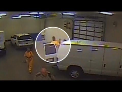 Footage revealed of chilling deadly inmate escape in Iowa