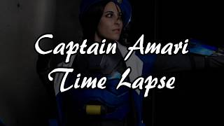 Overwatch Captain Amari | Time Lapse