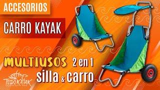 Vídeo: Carro Kayak OS-2207