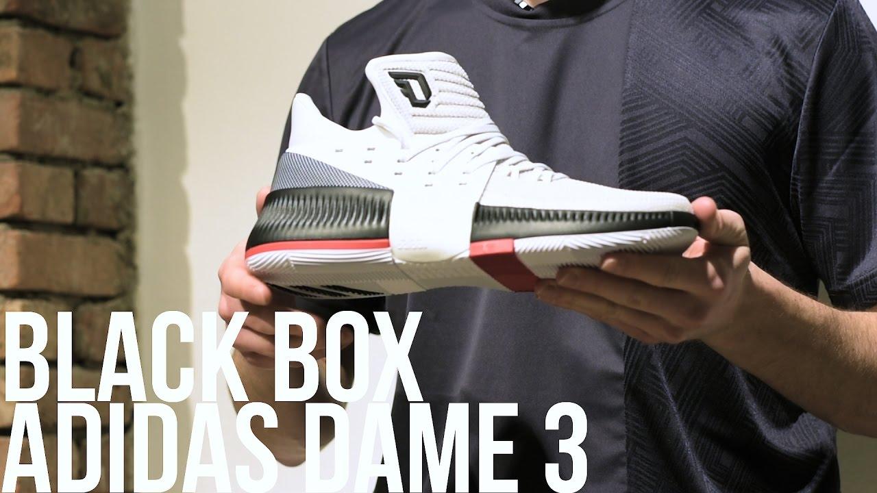 Black Adidas Box Youtube Dame 3 Presentazione rRrACwq