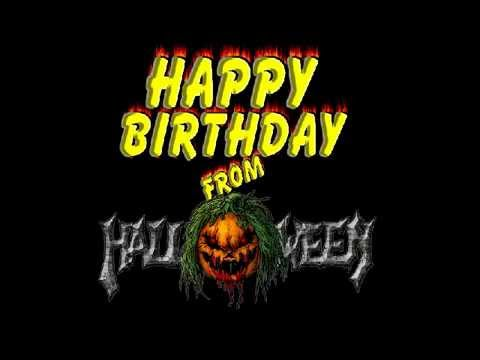 happy birthday from halloween youtube