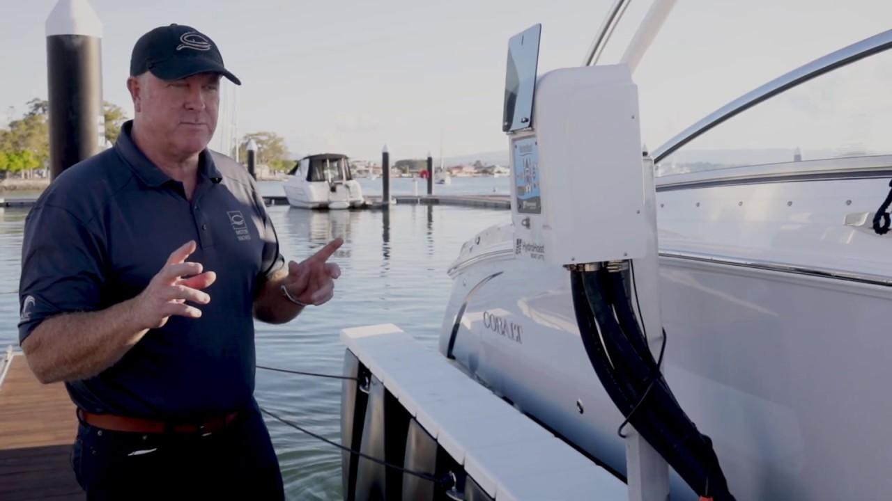 HydroHoist Boat Lifts Australia | Cobalt Boats