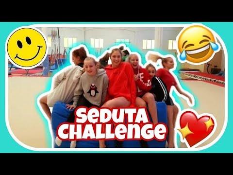 SEDUTA CHALLENGE ginnastica artistica csb