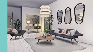 Retro Living | Peacemaker's Futura Living | CC Showcase