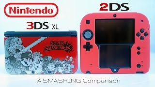 Nintendo 2DS vs. 3DS XL: A Super SMASHING Comparison!