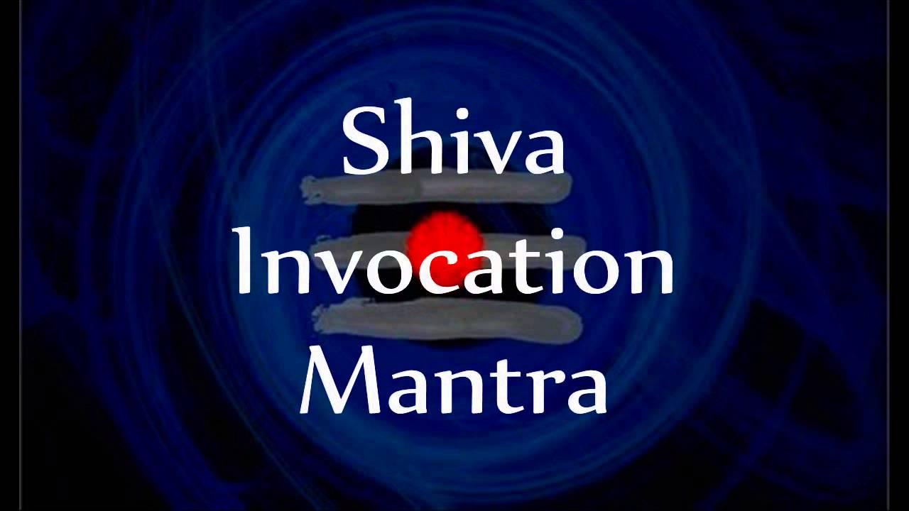 Lord Shiva Invocation Mantras - with English lyrics