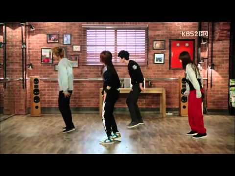[HD] Rainism - JB, Hyorin, Ailee, Park Seo-Joon @ Dream High 2 EP09.