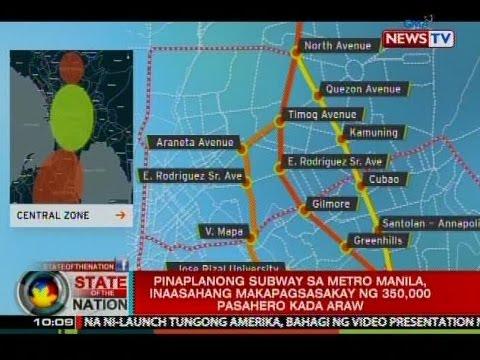 Banta ng baha at lindol sa Metro Manila, isinasaalang-alang sa pagpapatayo ng Mega Manila Subway