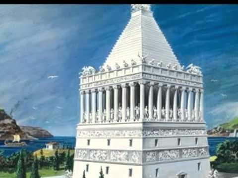 The 7 Ancient Wonders of the World- Mausoleum of Halicarnassus