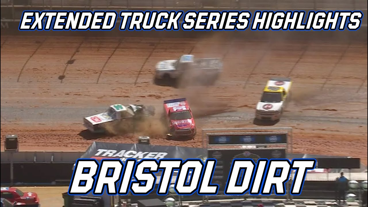 Pinty's Truck Race on Bristol's dirt track: Extended Highlights from Bristol Motor Speedway
