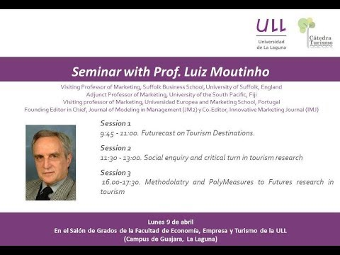 Futurecast on Tourism Destinations.- Prof. Luiz Moutinho