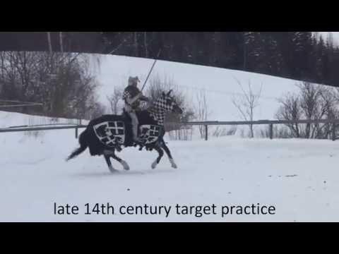 14th century target practice