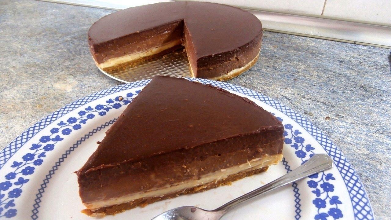 La tarta definitiva con 3 tipos de chocolate diferentes for Comidas faciles de preparar en casa
