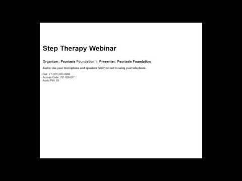 2016 09 29 10 31 Step Therapy Webinar