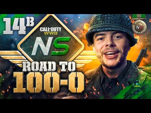 Road to 100-0! - Ep. 14B - MY BEST PLAY YET! (Call of Duty:WW2 Gamebattles)