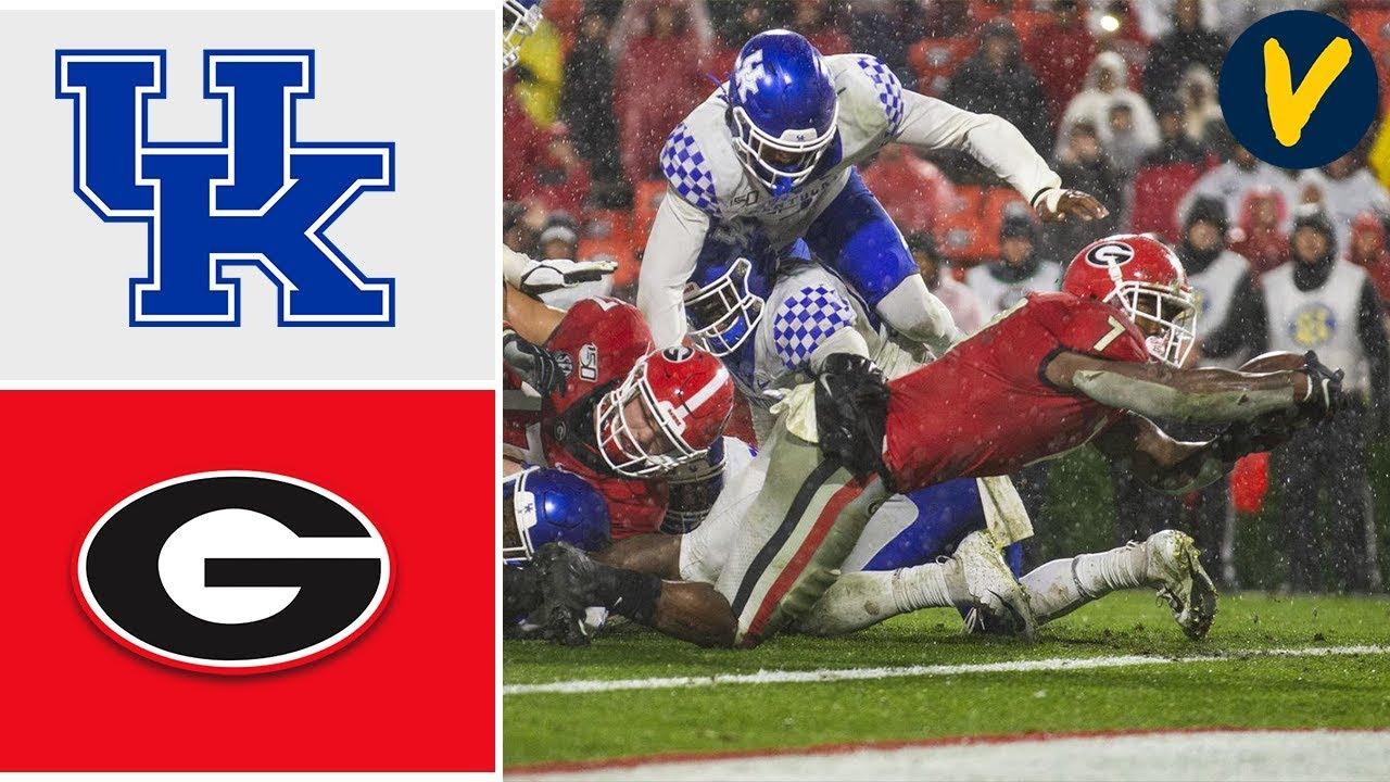 Kentucky vs #10 Georgia Highlights   Week 8   College Football Highlights