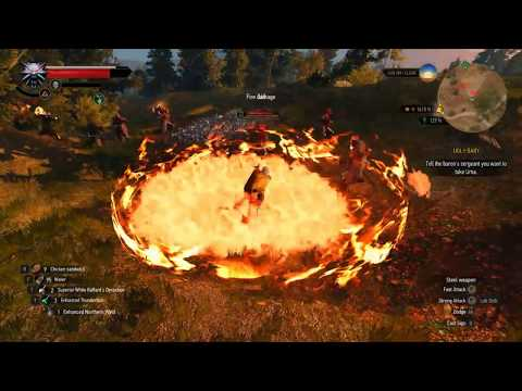 """Witcher 3 - """"Magic Spells For Signs"""" Mod Showcase"""