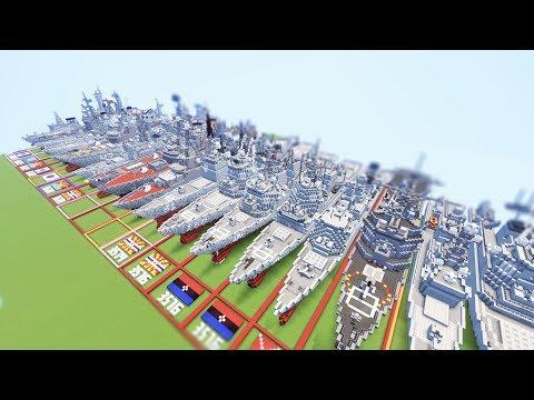 Minecraft Nanocraft: Navy Ships Fleet Collection Server Review