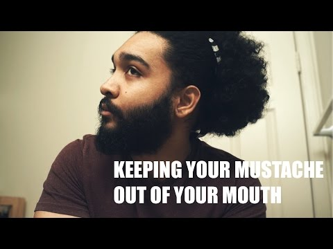 How to Keep Your Mustache Out of Your Mouth (Without Handlebar)