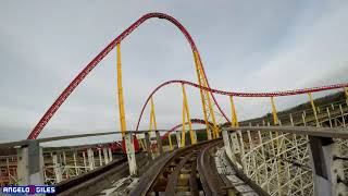 Racer 75 In 4K | Front Row | Kings Dominion