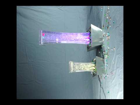 LED Bubble Fountain | Tabletop | Desktop | For Parties