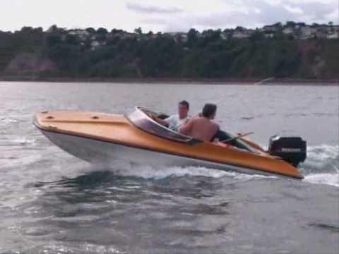 Mustang 14 Speedboat >> Mustang Speed Boat Fishing Boat Mercury 60 Outboard Youtube