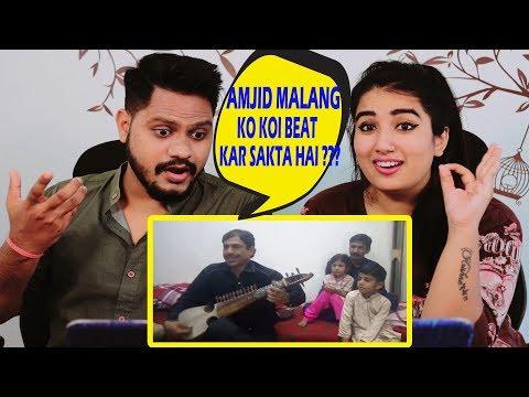 Indian Reaction On Bara Dushman Bana Phirta Hai | Amjid Malang Rabab | Instrumental