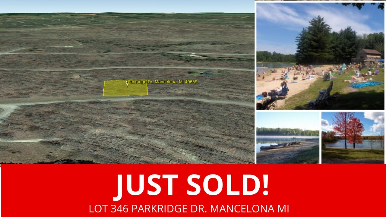 Sold By www.WeSellNewYorkLand.com - Lot 346 Parkridge Dr. Mancelona MI - Michigan Land For Sale