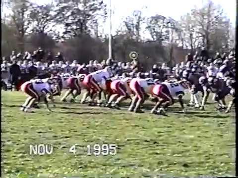 1995 IHSA FOOTBALL PLAYOFFS ROUND 2 CM EAGLES VS. HIGHLAND BULLDOGS PART 2