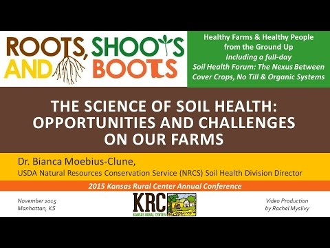 THE SCIENCE OF SOIL HEALTH - Dr. Bianca Moebius-Clune
