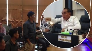 Download Video MARAH, Edy Rahmaydi Ajak Seorang Demonstran Berkelahi di Kantor Gubernur Sumut MP3 3GP MP4