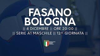 Serie A1M [12^]: Fasano - Bologna 24-17