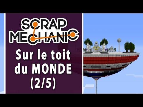 SCRAP MECHANIC - Défi 3-2 : Qui a dit Dragon Ball ? | LET'S PLAY FR