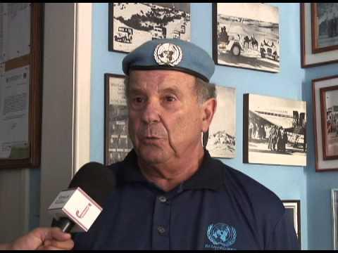 Boinas azuis recordam o batalhão de Suez